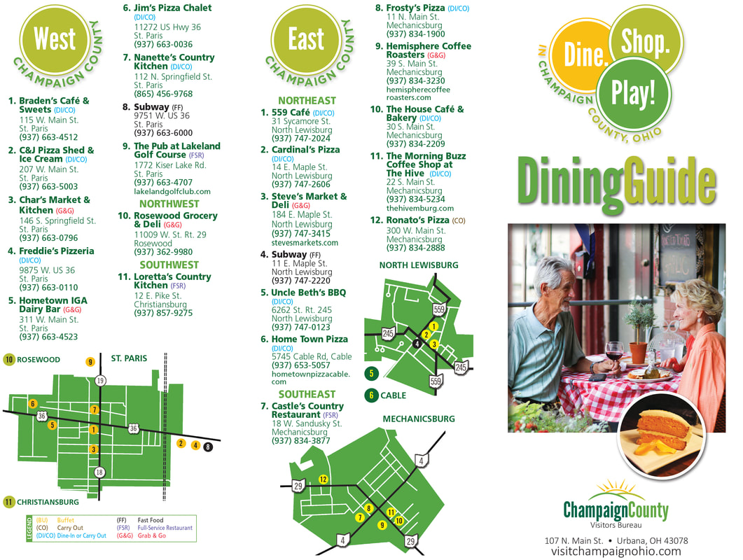 Champaign County Ohio Restaurants